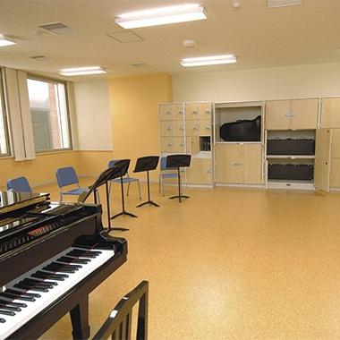 管弦楽室・弦楽器室