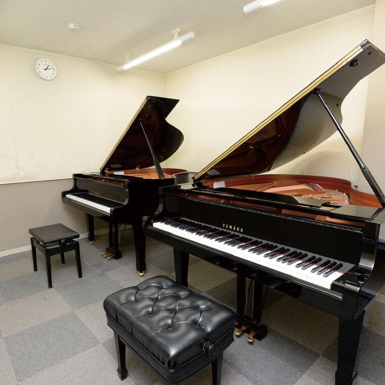 ピアノレッスン室・練習室(南棟1F)