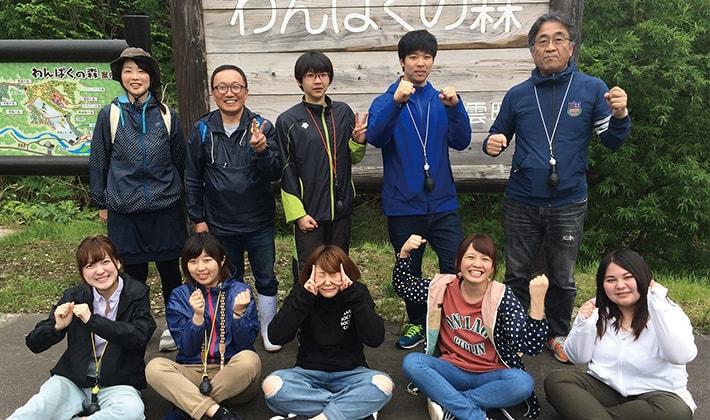 北海道八雲町でのフィールドワーク