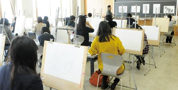 美術学科 進学準備講習会