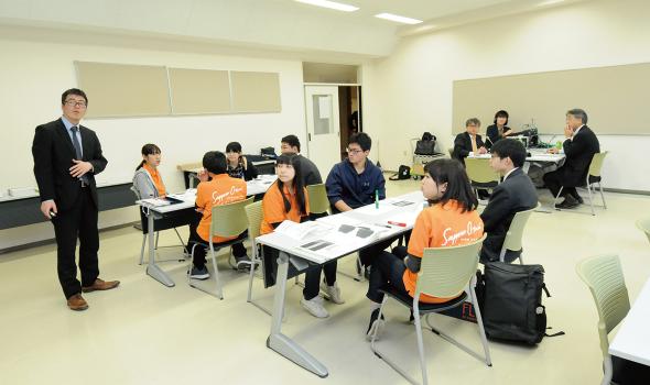 ミニ講義・体験授業「伝わる話し方、伝わる技術を身に付ける」
