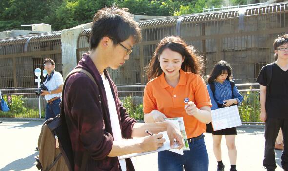 人の流れを予想する 札幌市円山動物園のフィールドワーク